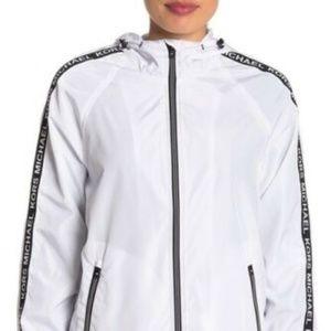 Michael Kors Jackets & Coats - MICHAEL Michael Kors Sleeve Tape Logo Jacket NWT